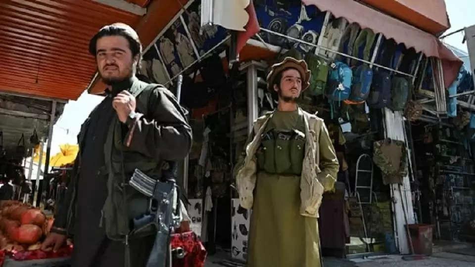 Taliban destroys musical instruments