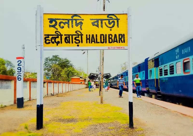 haldibari-  chilahati railway