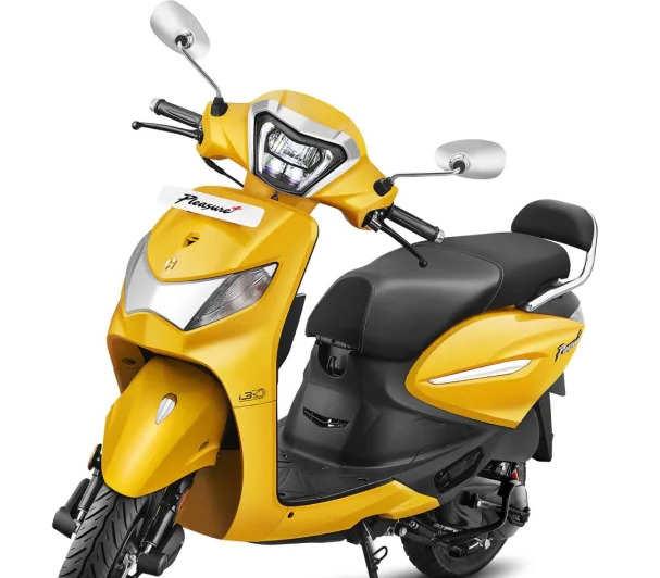 hero pleasure xtec scooter