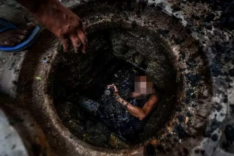 manhole death
