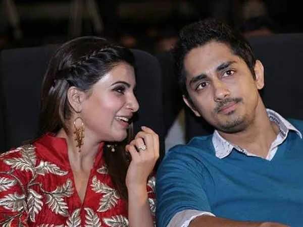 samantha and siddharth