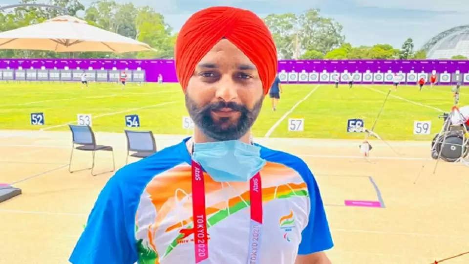 Paralympics Harvinder Singh won the bronze